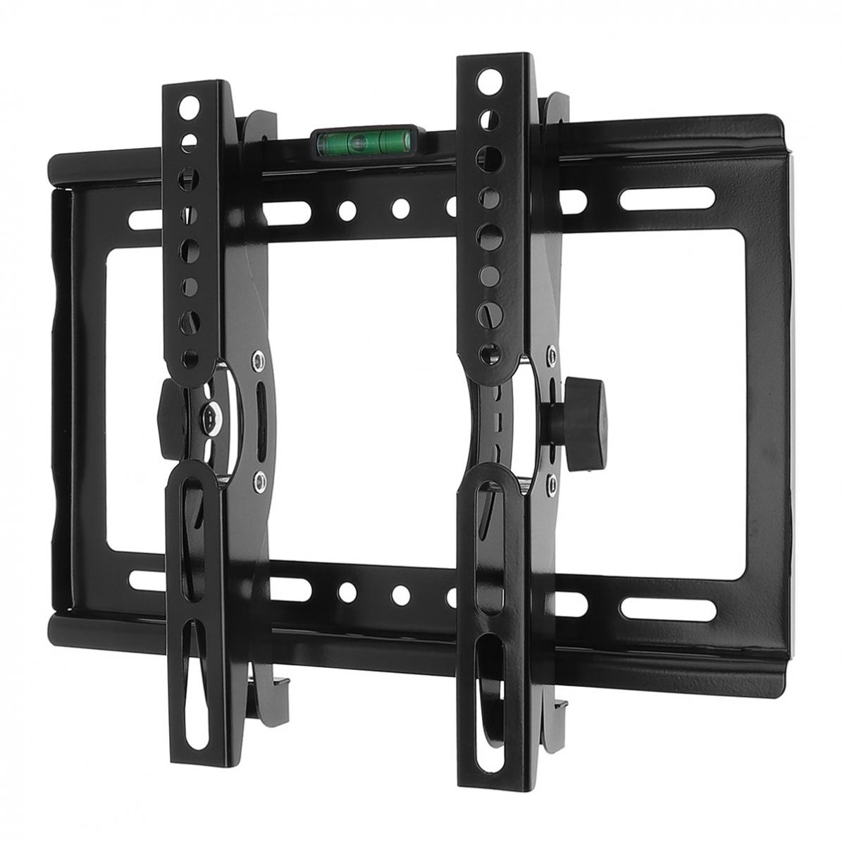 "14-42"" TV Wall Mount Bracket Flat Panel TV Frame Support 15 Degrees Tilt Angle with Level Standard for LCD LED Monitor Flat Pan"