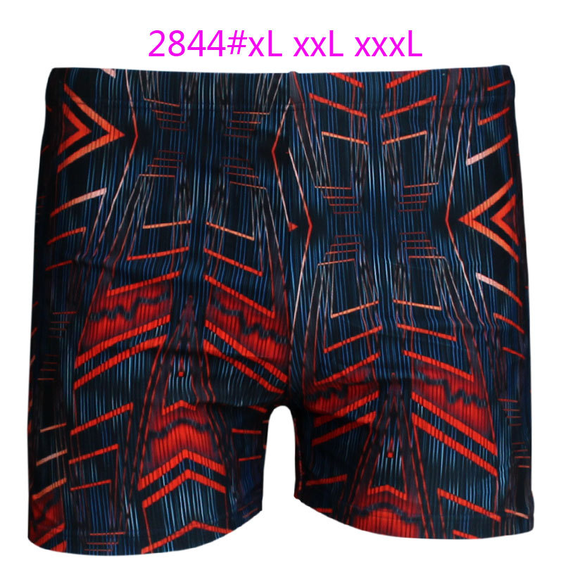 Top Grade Swimming Trunks Printed Plus-sized Swimming Trunks Men Fertilizer-Swimming Trunks Men's Swimming Trunks 2844 Bathing S