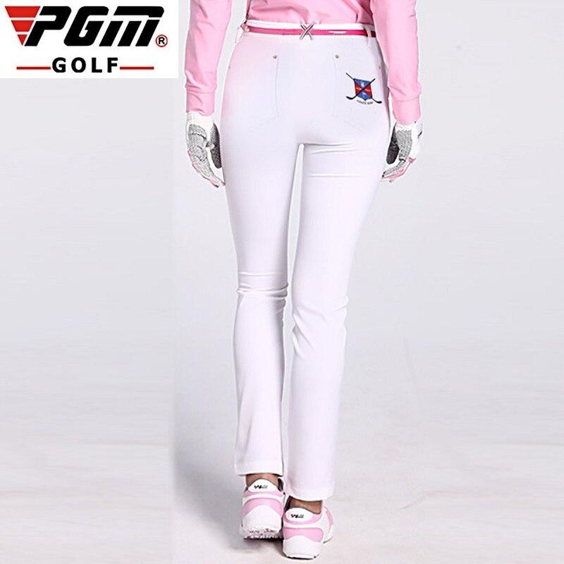 PGM femmes pantalons de Golf pantalons vêtements de sport femme mince séchage rapide élastique été mince loisirs Sports de plein air vêtements pantalons|Pantalon de golf| |  -