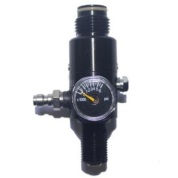 Paintball Gun Gas Tank Regulator Air Gun Pcp Hpa 4500psi Compressed Gas Tank Regulator Valve Adapter Output Pressure M18 * 1.5
