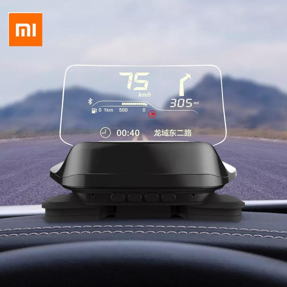 Original Xiaomi Mijia Carrobot Intelligence Car Hud Head Up Bluetooth Version Display OBD Driving Data Overspeed Warning System