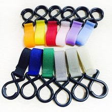 Durable Stroller Hooks Wheelchair Pram Carriage Bag Hanger Hook Baby Strollers Shopping Clip Accessories