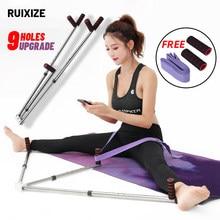 Yoga ballet perna maca extensão máquina de imprensa ligamento alongamento flexibilidade formação dividir pernas ligamento aptidão equipme