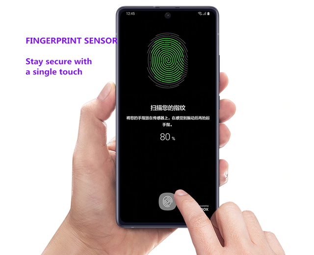 "Original Samsung Galaxy A71 5G 98%  Almost New Unlocked Dual Sim Cell Phones A7160 6.7"" 8GB+128GB ROM Snapdragon Octa Core NFC 6"