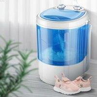 220V 4 5 KG hogar pequeño inteligente Mini máquina de lavado de zapatos lavadora y secadora lavadora portátil