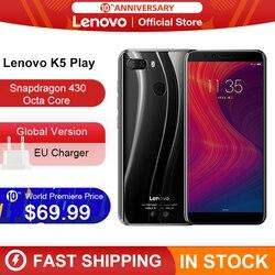 Globale Versione Lenovo K5 Gioco 3GB 32GB Snapdragon 430 Octa Core Per Smartphone 1.4G 5.7 18:9 di Impronte Digitali android 8 13.0MP Macchina Fotografica