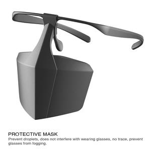 Image 1 - Protetor de boca rosto protetor máscaras faceshell anti respingo escudo dropletproof escudos anti infecção isolamento proteção da tela