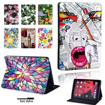 2020 nowy pokrowiec na Tablet Apple IPad Mini 1 2 3 4 5 iPad 2 3 4 iPad 5th 6th 7th iPad Air Air2 Air3 iPad pro 9 7 10 5 11 Cal + długopis tanie i dobre opinie SuanCase Osłona skóra 7 9 inch 9 7 inch 10 2 inch 10 5 inch 11inch iPad Mini 1 2 3 4 5 iPad 2 3 4 iPad5th 6th 7th iPad Air Air2 Air3