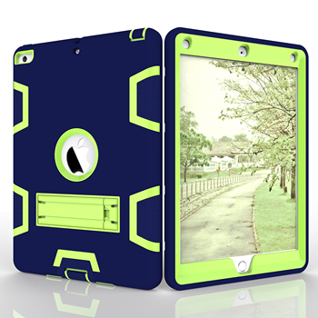 Shockproof Armor Case For iPad 9.7 2017 2018 A1893 1822 Case Kids Safe Heavy Protective Rugged Duty Shockproof Stand Case Cover фото