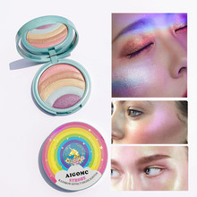 ZHENDUO 5 Color Highlighter shimmer glitter EyeShadow Makeup palette Long Lasting Beauty  Eye shadow Pigment
