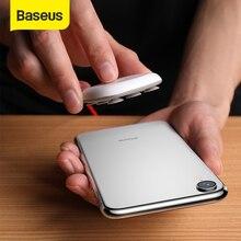 Baseus örümcek vantuz kablosuz şarj iPhone XR XS Max taşınabilir hızlı kablosuz şarj Pad Samsung not 10 9 S9 + S8