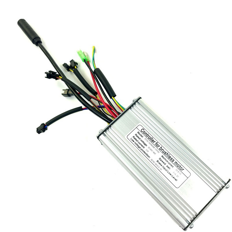 Aging Resistance Electric Bicycle 9-Tube Controller 36/48V 500-750W KT-22A SM Square Wave Electric Bike Accessory