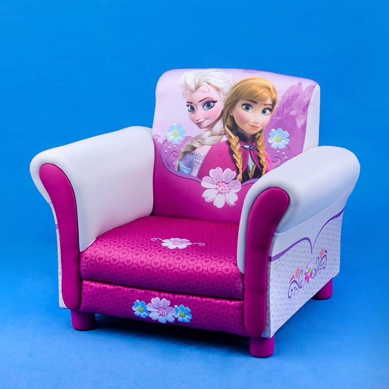 Children's Sofa Cartoon Princess  Baby Sofa Chair Kid Baby Furniture Fabric Art Children's Room Decoration