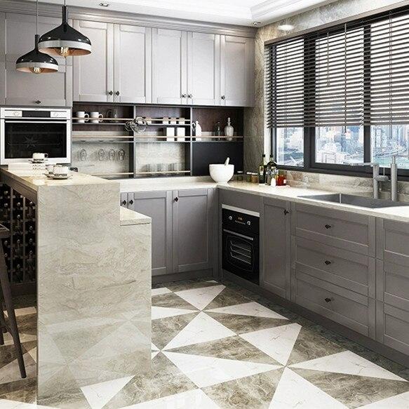 Dibuat Di Cina Foshan Produsen Murah Rumah Modern Desain Furniture Custom High Gloss Lacquer Dapur Kabinet High Gloss Kitchen Cabinets Design Kitchen Cabinetkitchen Cabinet Aliexpress