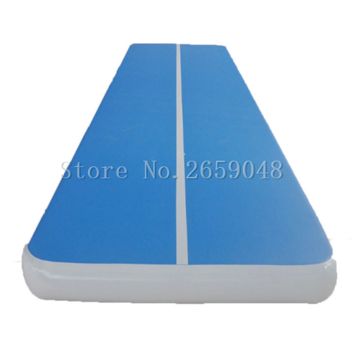 Inflatable Air Track 6m Gymnastics Professional Airtrack Yoga Sport Wrestling Buffer Prevent Injuries Tumbling Mats