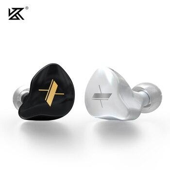 KZ EDX Earphones 1 Dynamic HIFI Bass Earbuds In Ear Monitor Headphones Sport Noise Cancelling Headset 4