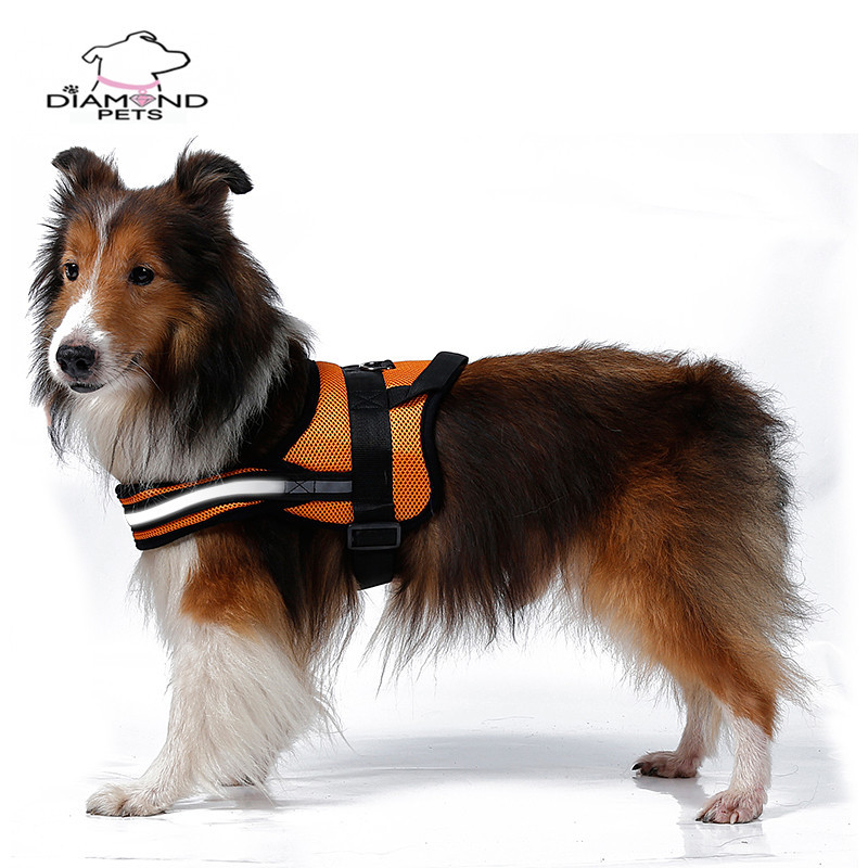 Large Medium-sized Dog Thoracic Suspender Strap Satsuma Golden Retriever Husky Dog Xiong Bei Tao Vest Traction Suspender Strap