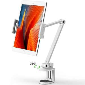 Stand-Rotating Tablet Mount Mobile-Phone-Holder iPhone iPad Height/angle-Adjustable Long-Arm