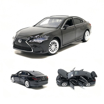 New Arrival 1/32 2020 3 Colors Lexus ES300 Luxury Diecast Model Car Toys With Sound Light Car Gifts Collection Free Shipping
