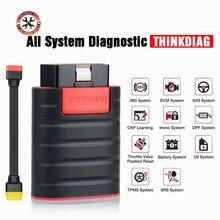 أداة تشخيص السيارة ThinkDiag OBD2 ، 16 وظيفة إعادة تعيين ، مع كابل ، نظام كامل ، 2021