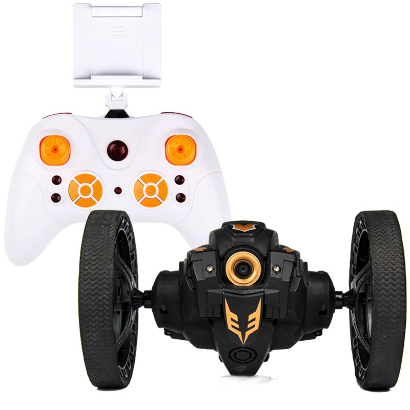 RC Car With Camera 2.0mp Jumping Sumo WIFI Bounce Car PEG SJ88 4CH 2.4GHz  RC Cars With Flexible Wheels Remote Control FSWB