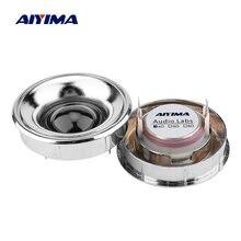 AIYIMA 2 قطعة مكبر صوت صغير مكبرات الصوت 4 6 أوم 20 واط النيوديميوم الحرير غشاء 25 الأساسية ثلاثة أضعاف سماعات وحدات مكبر الصوت