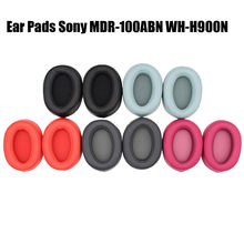 New Replacement Ear Pads Ear Cushion For Sony MDR-100ABN WH-H900N Headphone Earpad Headphones Replacement Ear Cushion Earpad(China)