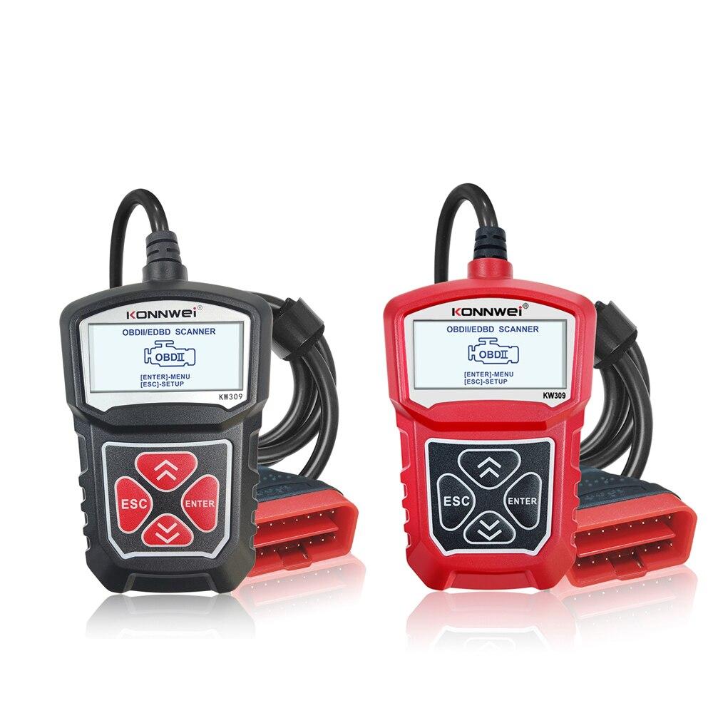 Skaner OBD2 EOBD CAN J1850 PWM J1850 VPW ISO914 KWP2000 czytnik kodów dla BMW Audi Volvo Mercedes Ford Toyota Honda Mazda