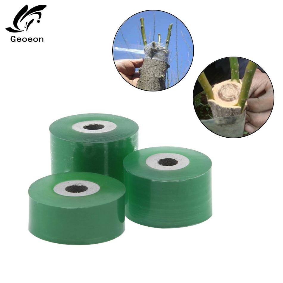 2 2.5 3CM X 100M / 1 Roll Grafting Tape Garden Tools Fruit Tree Secateurs Engraft Branch Gardening Bind Belt PVC Tie Tape A32