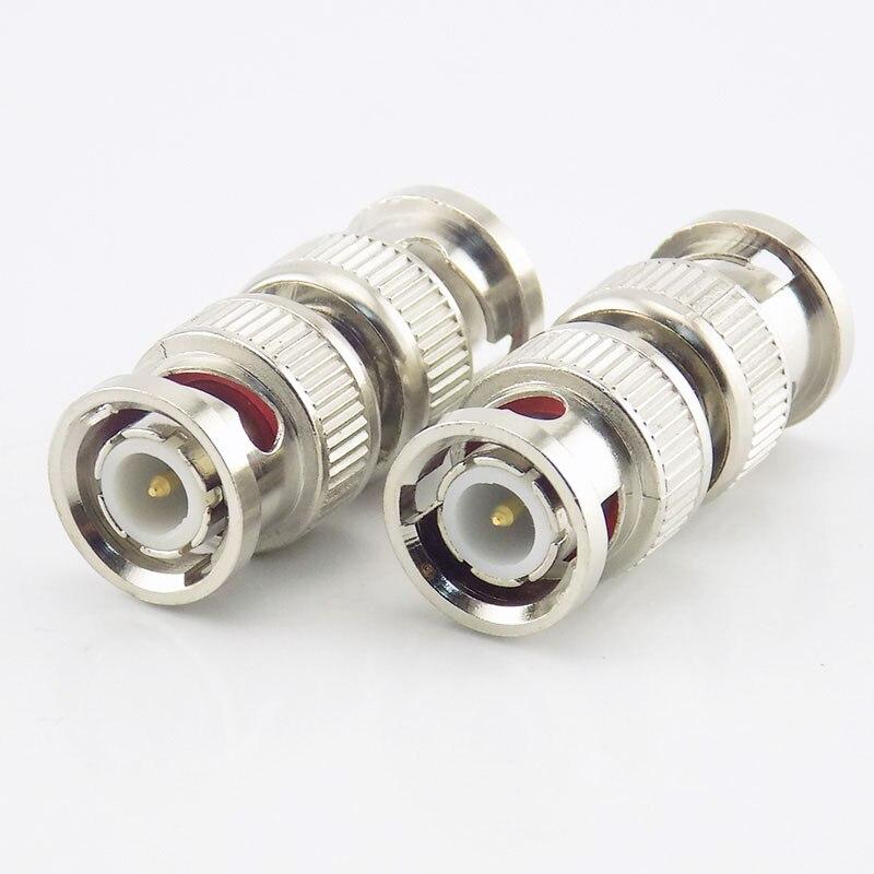 50pcs Twist on BNC Male RG59 Coax Coaxial Connectors  for CCTV cameras Lot Pack