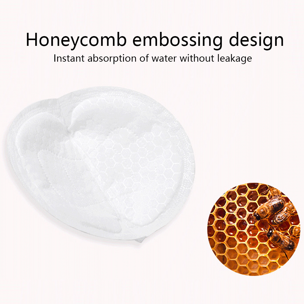 100Pcs Ultra-thin Milk Disposable Soft Non-washable Leak-proof Breast Pad Maternal Breathable Non-woven Fabric Anti-overflow