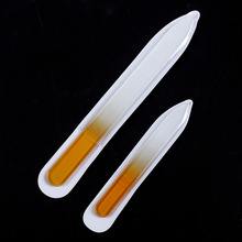 Nail-File Makeup-Tool Manicure Crystal Buffing-Grit-Sand Beauty Glass for Durable 1PCS