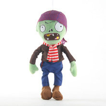 Plants vs. Zombies  plush toys dolls 30cm new Pirate Zombie dolls children's birthday gifts pirate mcsnottbeard in the zombie terror rampage