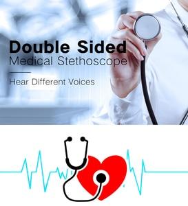 Image 2 - כפול צדדי רפואי קרדיולוגיה רופא סטטוסקופ מקצועי רפואי לב סטטוסקופ אחות תלמיד רפואי ציוד מכשיר