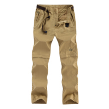 Quick-drying pants mens trousers  light outdoor sports detachable quick-drying waterproof breathable loose hiking