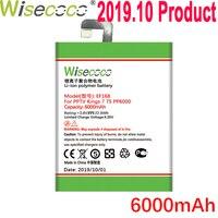 WISECOCO بطارية 6000mAh EF168 للهاتف المحمول PPTV King7 King7S PP6000 أحدث إنتاج بطارية عالية الجودة + رقم تتبع بطاريات الهاتف المحمول الهواتف المحمولة ووسائل الاتصالات -