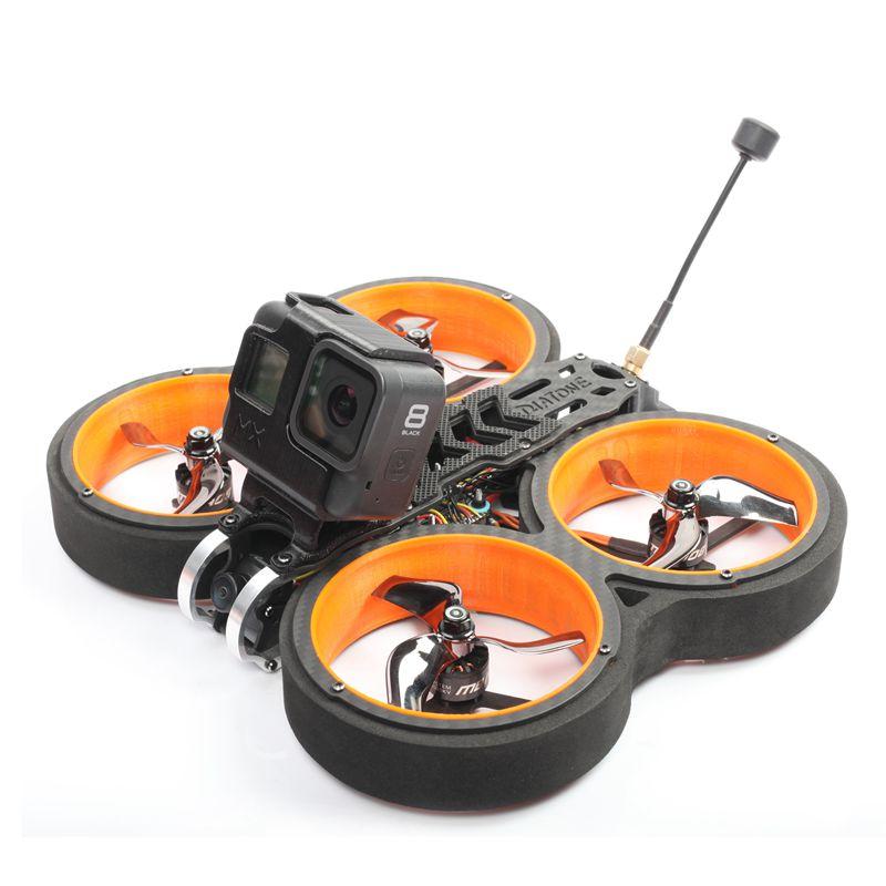DIATONE MX-C Taycan 3 Inch 4S-6S Cinewhoop Carbon Fiber Frame Kit FPV Racing Drone