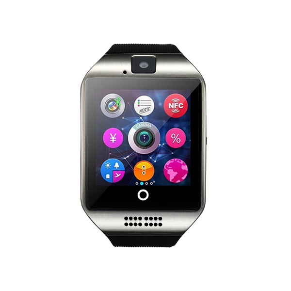 Q18 Smart Wearable Phone Watch Motion Bluetooth Card Multinational Language