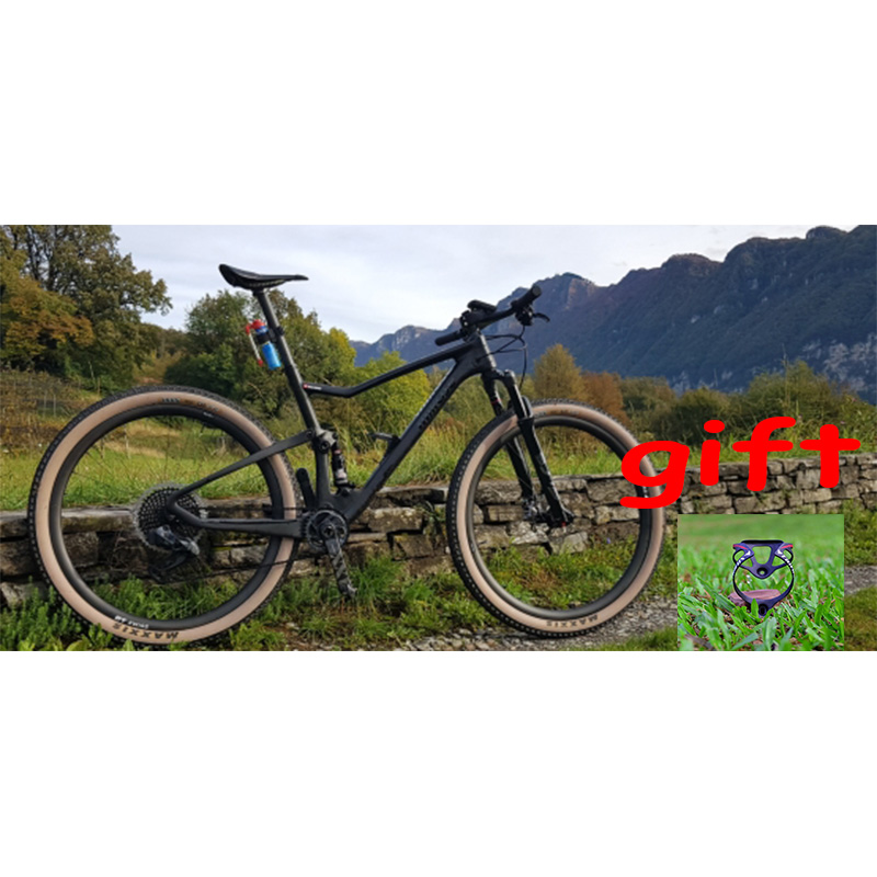 TRIFOX Carbon Suspension Bike Frame 29er MTB Boost 148mm T800 Carbon Fiber Full Suspension Mountain Bikes BB92 XC Carbon Frame