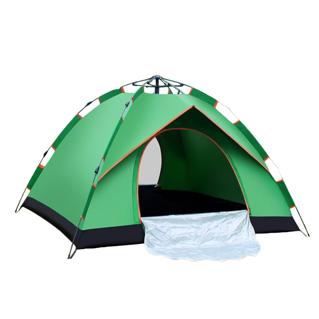 1 Pieces 1-2 People Instant Automatic -up Tent Double Door For Outdoor Camping Hiking Picnic Beach Folding Portable Tent w/ Bag