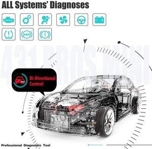 Image 2 - Starten X431 PROFIS Mini Automotive OBD2 Scanner Diagnose Werkzeug IMMO Injektor ECU Codierung TPMS ABS Blutungen Wifi Bluetooth Scanner