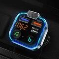 CDEN Автомобильный Электронный FM-передатчик Bluetooth Автомобильный MP3-плеер без потерь Музыкальный телефон usb-c pd18w автомобильное зарядное устрой...
