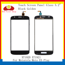 цена на 10Pcs/lot Touch Screen For Motorola Moto E5 Play Touch Panel Digitizer Sensor Front LCD Glass Lens E5 Play Touchscreen