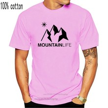 T-shirt vie de Montagne BIO Ski de Montagne, Snowboard Escalade Sport, nouveau