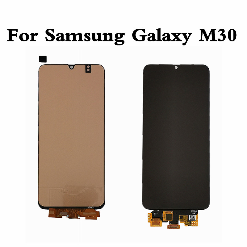 OLED LCD For <font><b>Samsung</b></font> M30 M305 LCD Display Screen For <font><b>Samsung</b></font> M30 Touch Screen Digitizer For <font><b>Samsung</b></font> M30 M305F Screen Display image