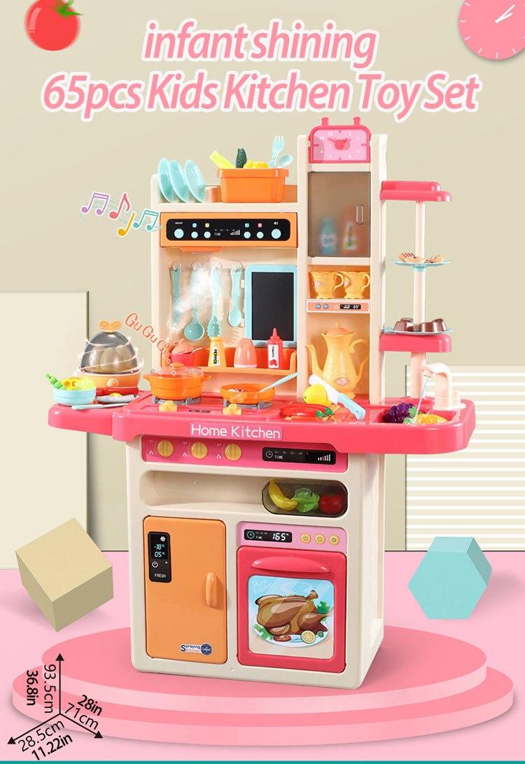 cozinhar brinquedos 2-4 anos conjunto de brinquedos de cozinha