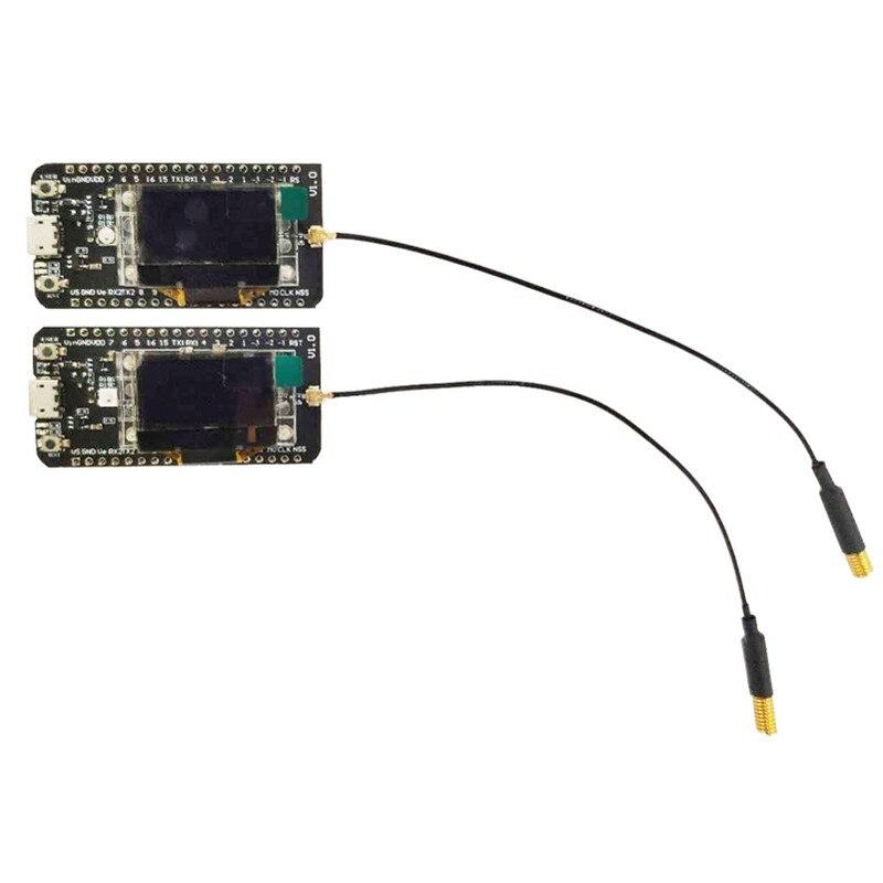 2 peças cubecell GPS-6502 asr6502 lora gps nó/lorawan nó aplicações para arduino com antena, par de pacotes