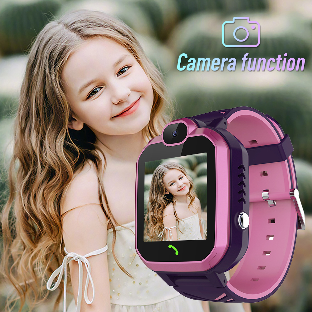 R7 Smart Watch Waterproof Child Baby Watch Children SOS Alarm Locator LBS Tracker Anti-lost Monitor Voice Call Camera Bracelet