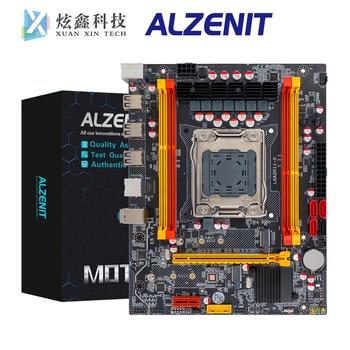 цена на ALZENIT X79M-CD3 Intel X79 Motherboard LGA 2011 Xeon E5 ECC REG DDR3 128GB SATA3.0 USB2.0 M.2 NVME NGFF M-ATX Server Mainboard