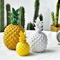 Nordic INS Stil Harz Ananas Modell Ornament Hause Dekoration Wohnzimmer Restaurant Wein Schrank Dekorative Figuren 1 stück